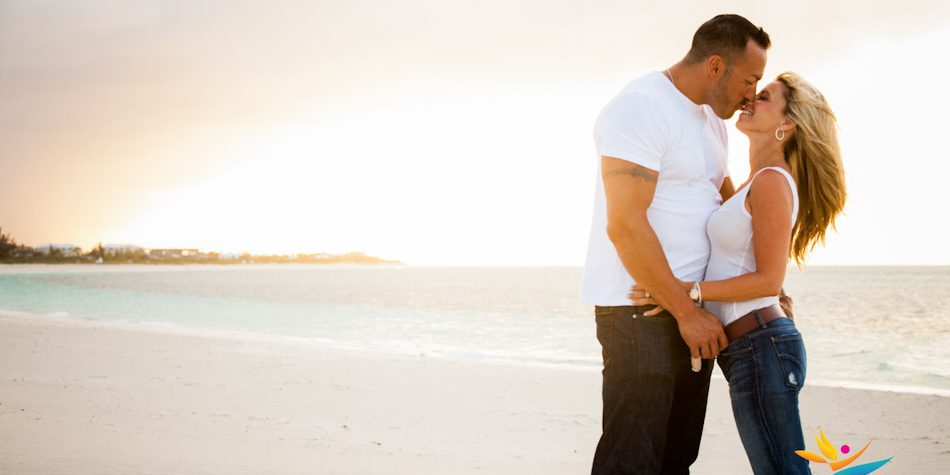 Couples beach photo shoot gansevoort turks